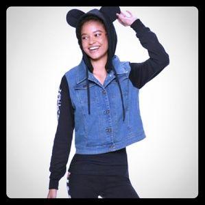 Mickey Mouse Denim Jacket🎉Host Pick🎉💫💞
